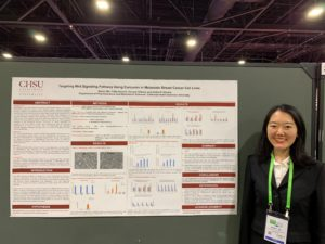 Nancy Ma Presents at the American Association of Cancer Research (AACR) 2019 Annual Conference
