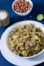 Sabudana Khichdi Recipe, How To Make Sabudana Khichdi For Fasting