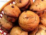 Eggless Banana Chocolate Muffin Recipe