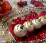 Kaju Gulkand Ladoo Recipe, Cashew and Rose Jam Fudge