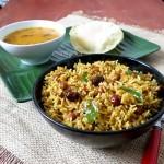 How To Make Tamarind Rice ,Puliyodharai Recipe