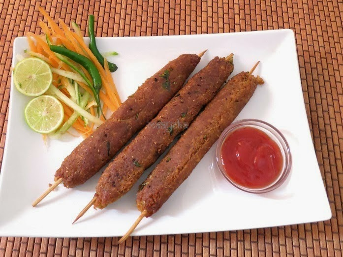 veg seekh kabab