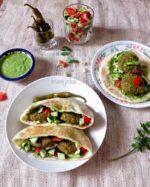 Falafel Sandwich Recipe, How to Make Falafel Sandwich,