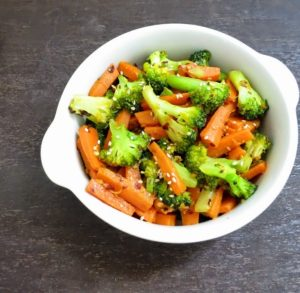 carrot and broccoli