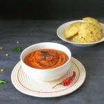 Tomato Chutney Recipe For Idlis and Dosa