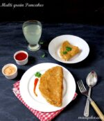 Multi Grain Pancakes Recipe, Multi grain Cheela