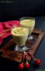 Sheer Khurma Recipe , How To Make Sheer Korma
