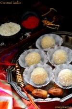 Coconut Ladoo Recipe with Condensed Milk ,Easy Coconut Ladoo