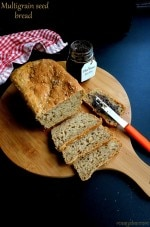 Multigrain Bread Recipe, How To Make Healthy Multigrain Bread