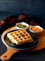 Waffle Uttapam Recipe