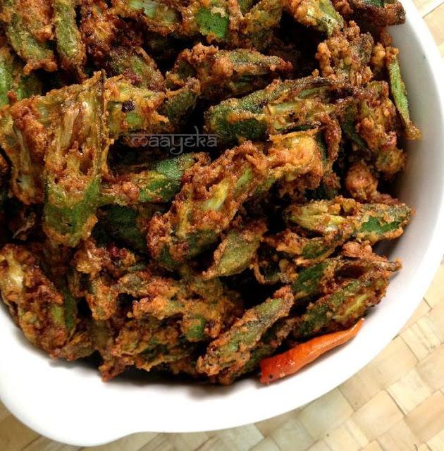bhindi kurkuri