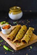 Karela Thepla Recipe , How To Make Karela Paratha