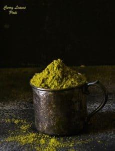 curry patta podi