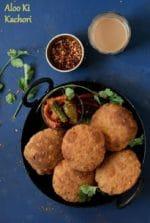 Aloo Kachori Recipe , How To Make Aloo Ki Kachori
