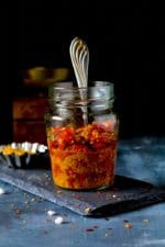 How To Make Instant Red Chili Pickle, Easy Red Chili Pickle Recipe