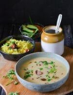 Gujarati Kadhi Recipe, How to Make Gujarati Kadhi+Video
