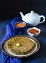 Palak Paneer Paratha Recipe, How To make Palak Paneer Paratha