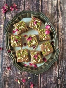 walnut barfi