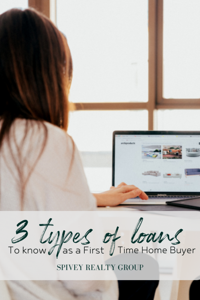 What are the THREE loan types you should know as a First-Time Home Buyer?