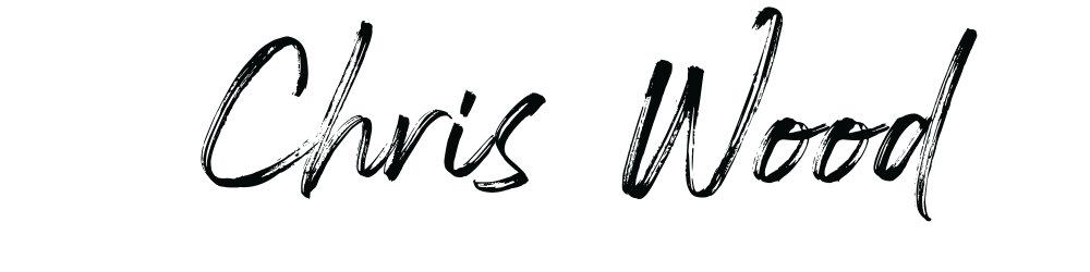 chris wood signature