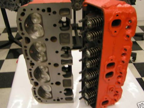 Chevy 350 Small Block Performance Cylinder Heads