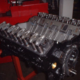 CHEVY 383 390HP 456ft-lbs TBI STROKER ENGINE
