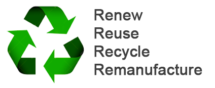 renew-reuse-recycle-remanufacture
