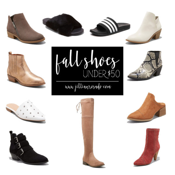 Affordable Fall Shoes for Moms