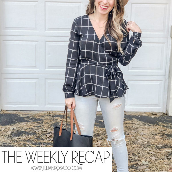 The Weekly Recap V11 Jillian Rosado