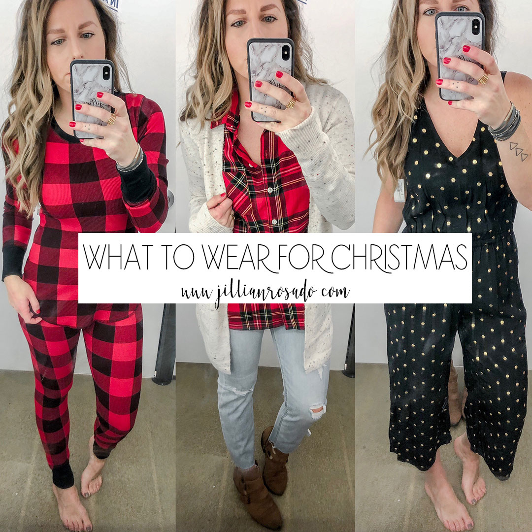 Old Navy Holiday Collection Christmas Outfits Jillian Rosado