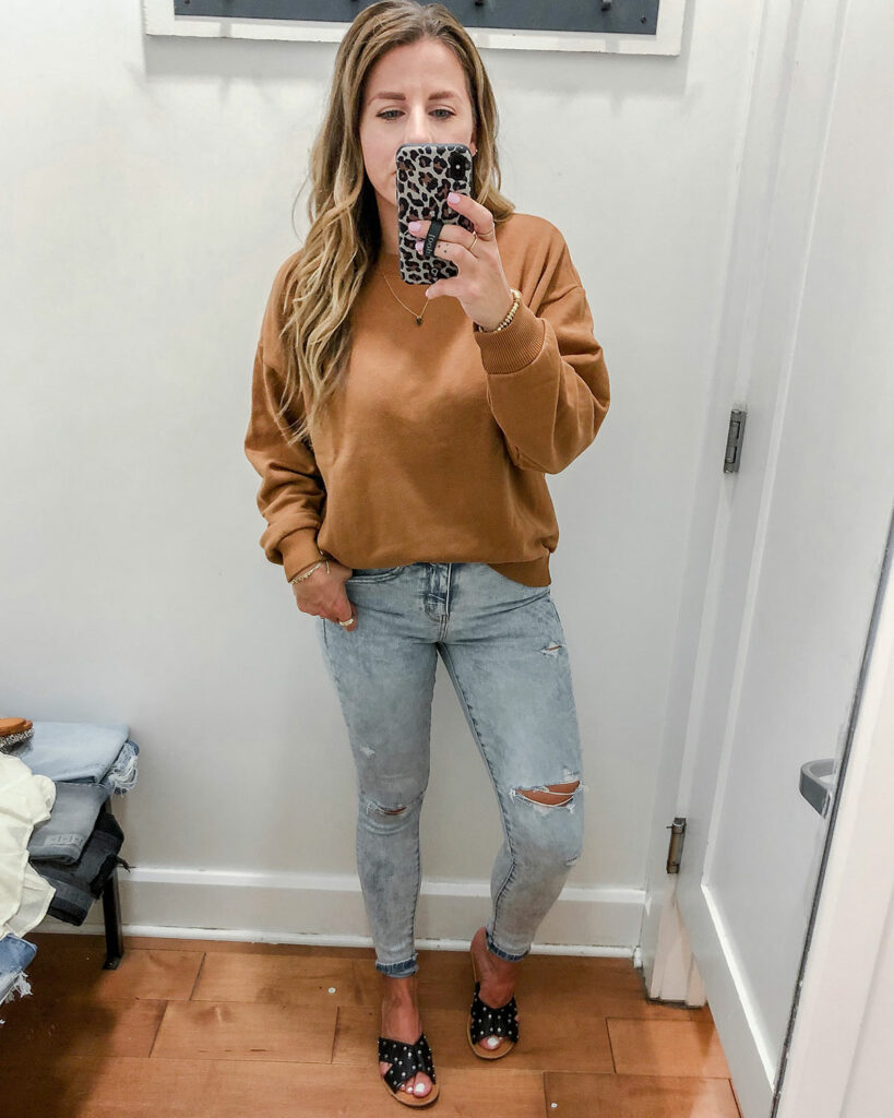 Oversized Boyfriend Sweatshirt