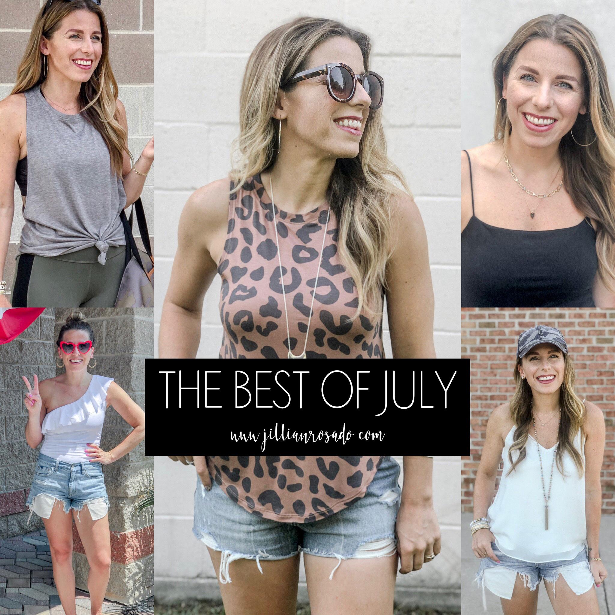 July Best Sellers 2019 Jillian Rosado