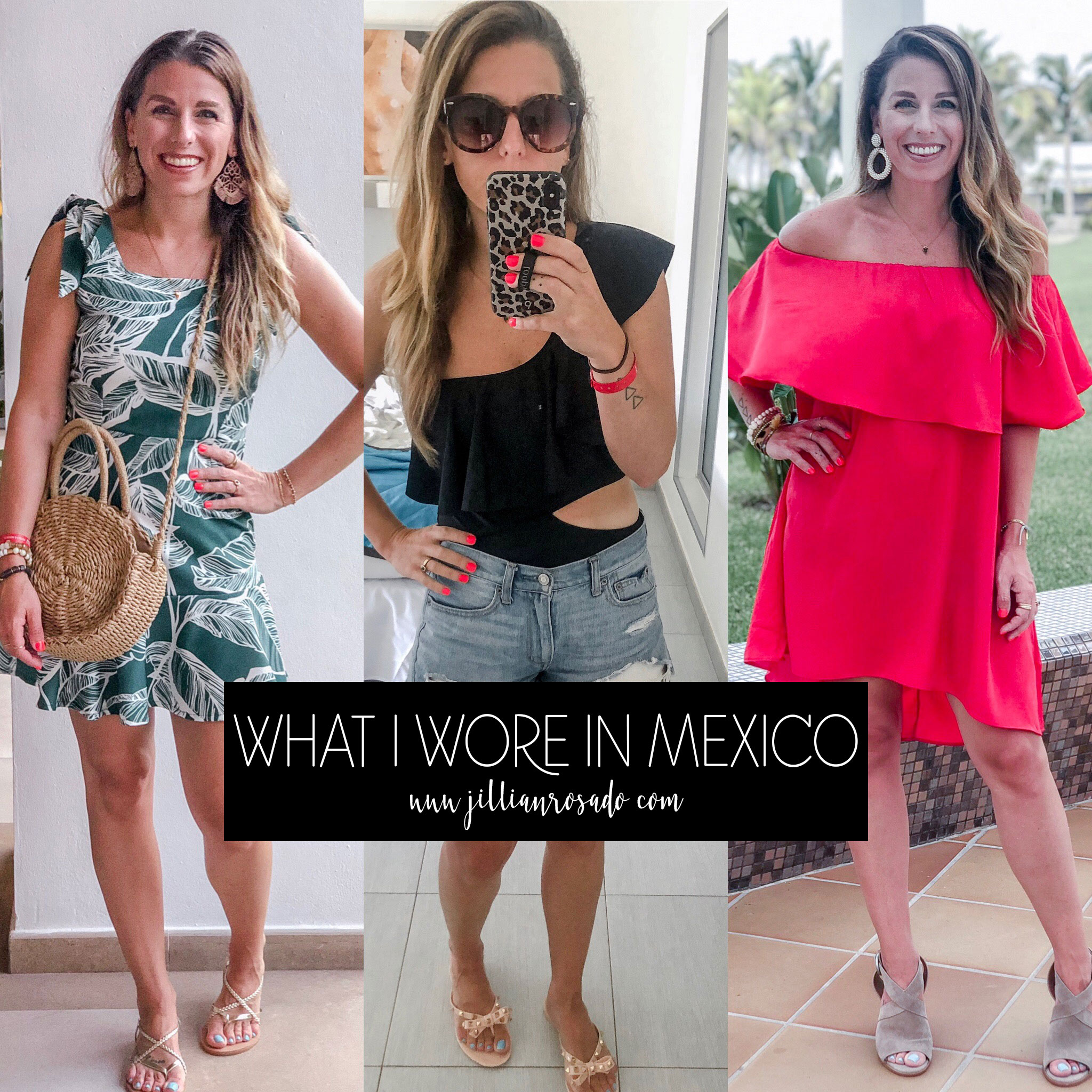 Mexican Vacation Outfits