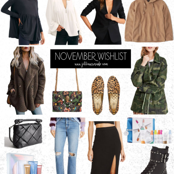 November Fashion Skincare WIshlist