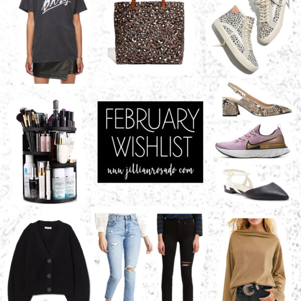 February 2020 Wishlist Jillian Rosado