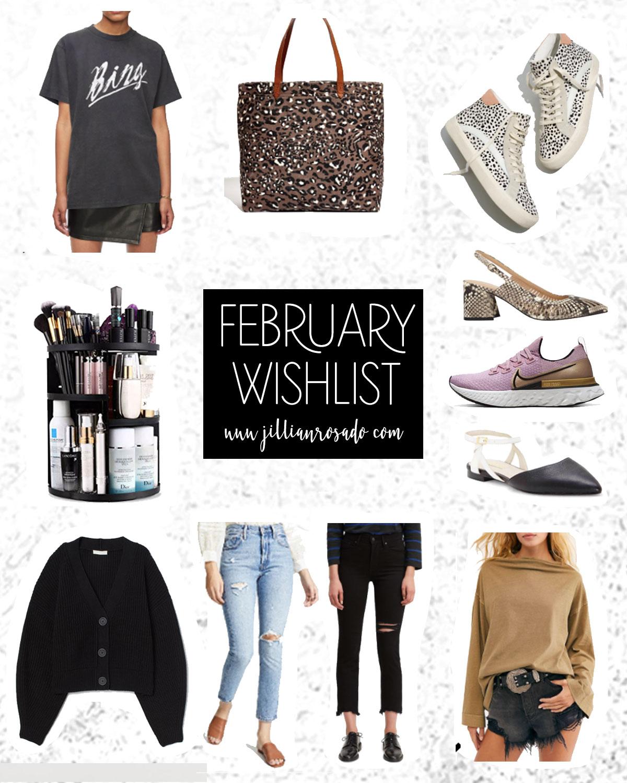 February 2020 Wishlist Jillian Rosado