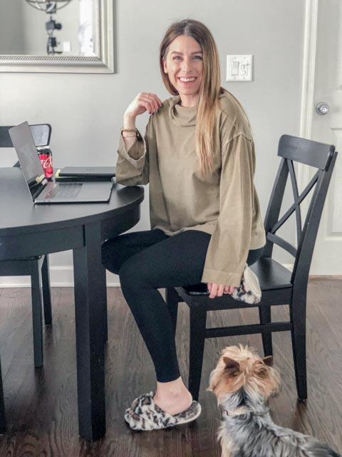 Cozy Work From Home Outfit