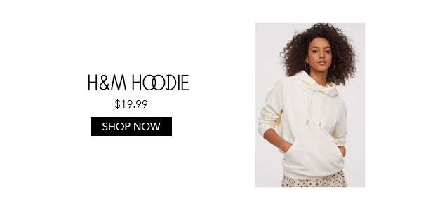 H&M White Hoodie
