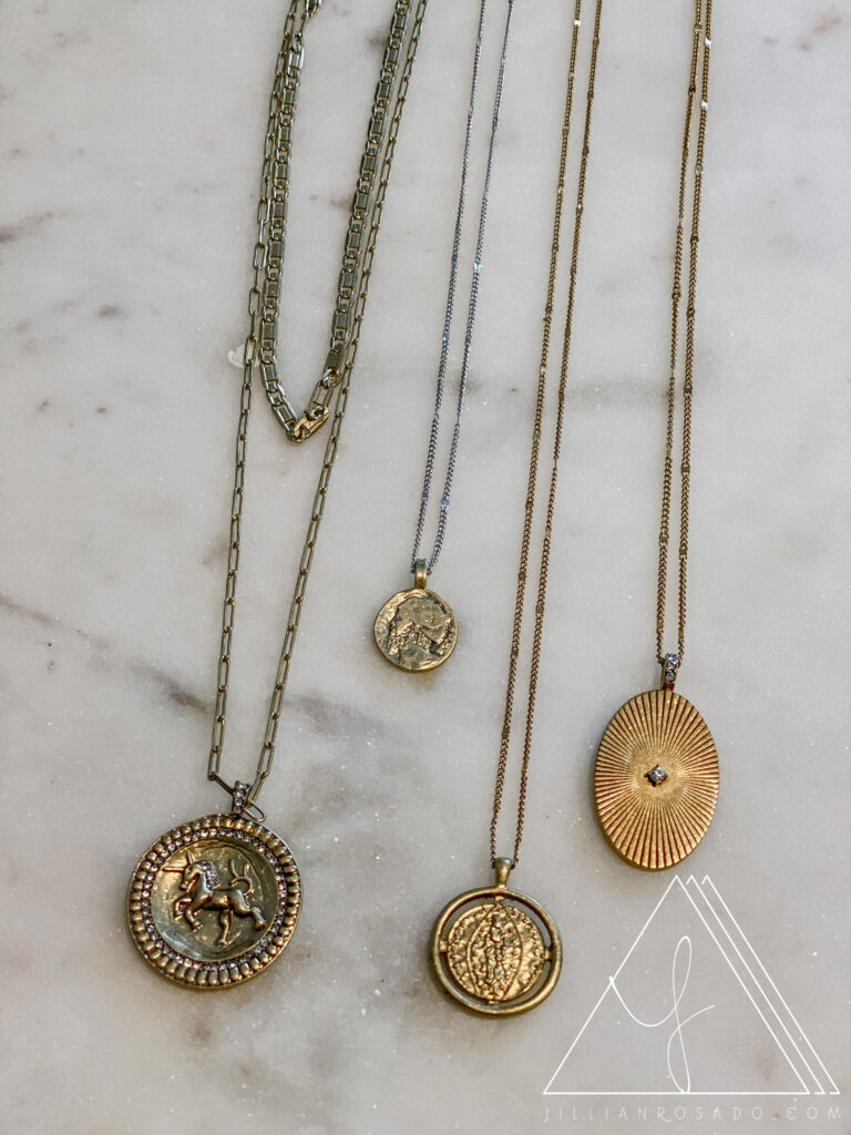 Stella & Dot Coin Necklaces