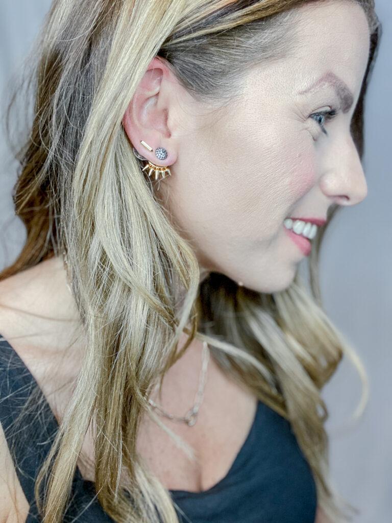 Stella & Dot Renegade Ear Jackets