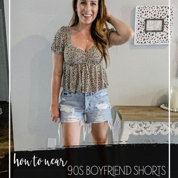 AE 90s Boyfriend Shorts