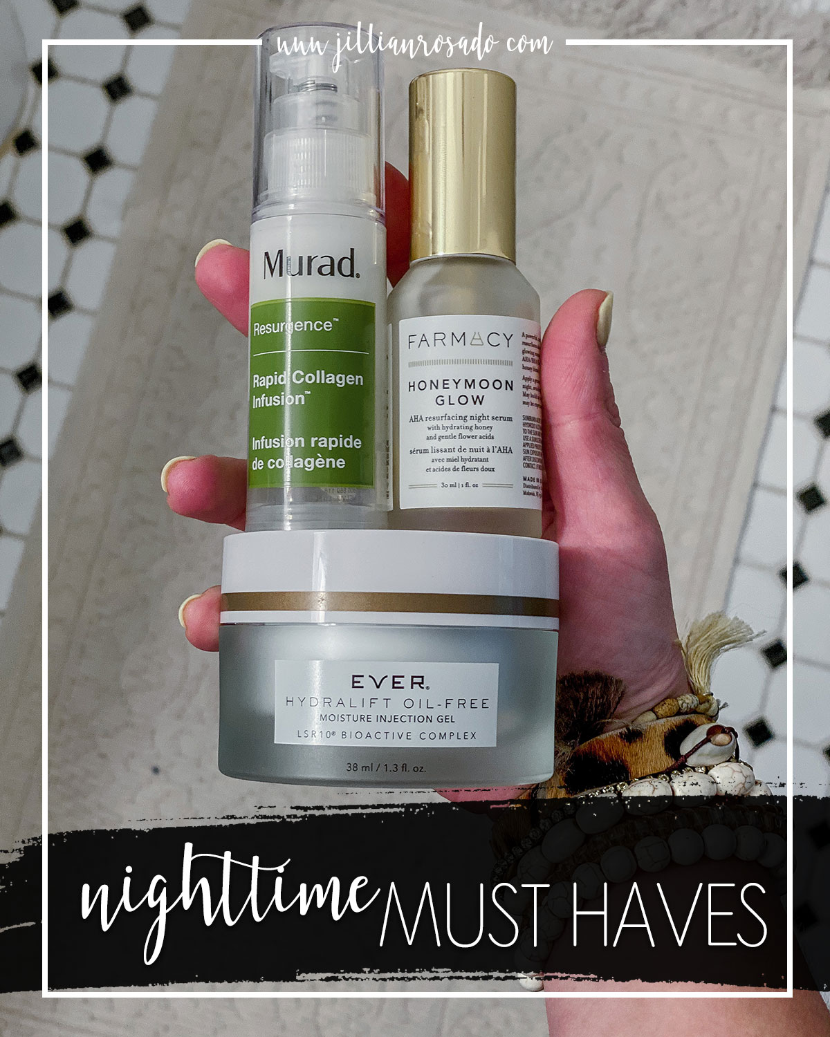 Nighttime Skincare Routine Must Haves