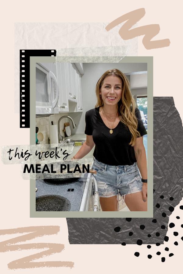 Weekly Meal Plan Summer Dinner Recipes