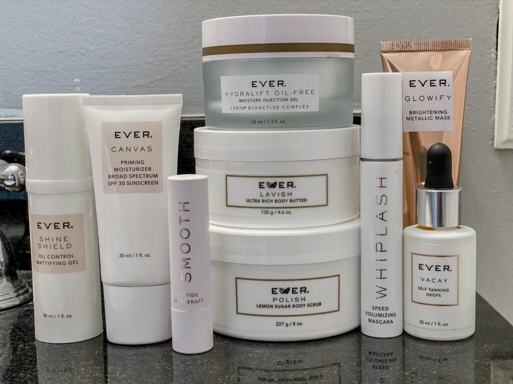 Ever Skincare Top Favorite Products