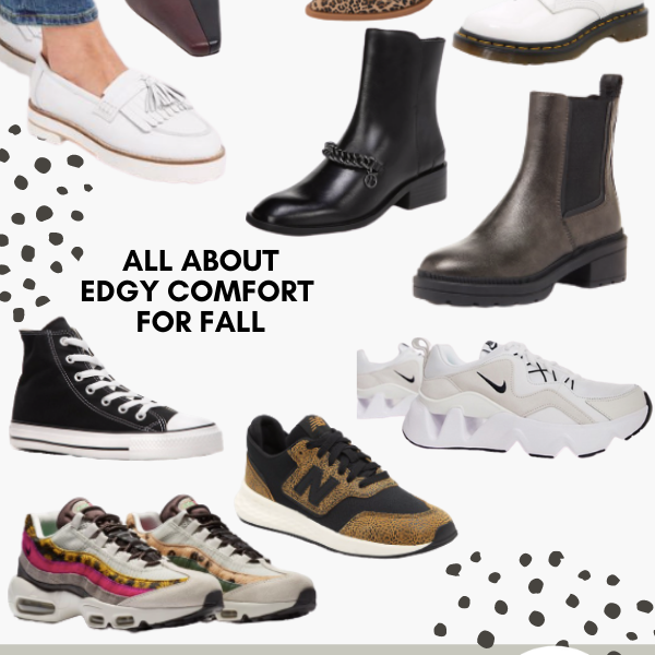 Fall Shoe Styles Boots Sneakers Flats Loafers