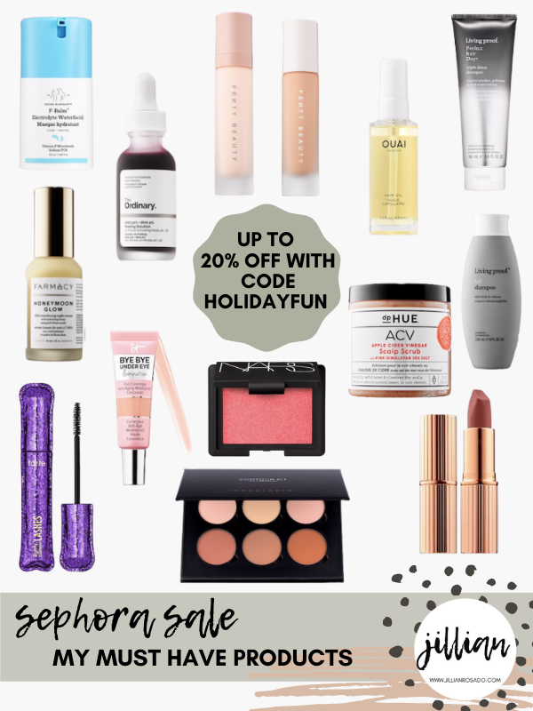 Sephora VIB Sale Everyday Beauty Must Haves