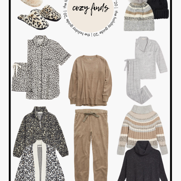 The Holiday Guide 2020 Cozy Finds Loungewear