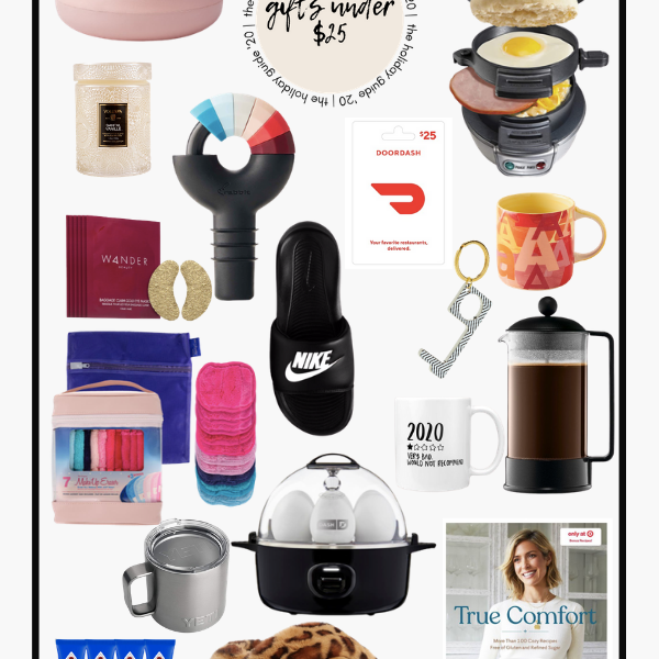 Affordable Gifts Under $25 Christmas Holiday 2020 Gift Guide