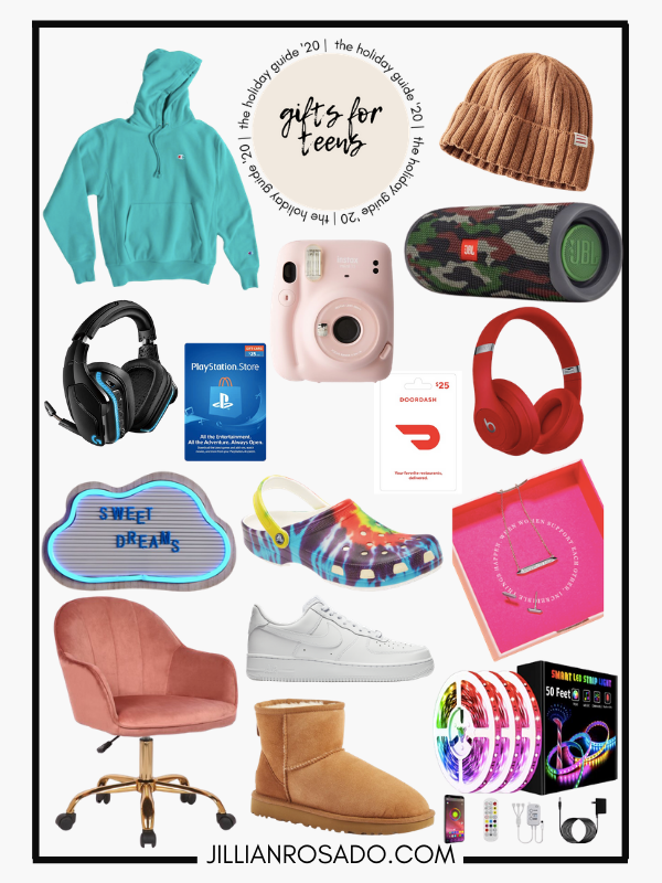Gift Guide Teen Gift Ideas