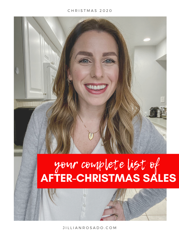 After Christmas 2020 Sales Guide